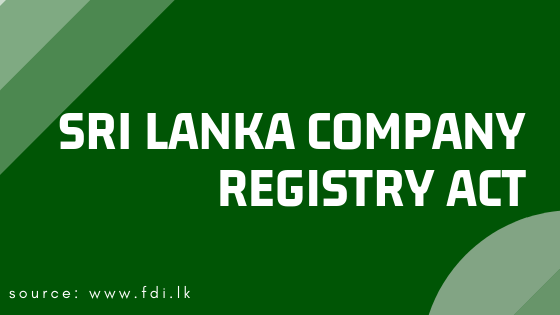 Sri Lanka Company Registry Act